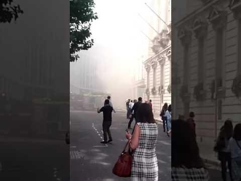 Fire Gresham Street london