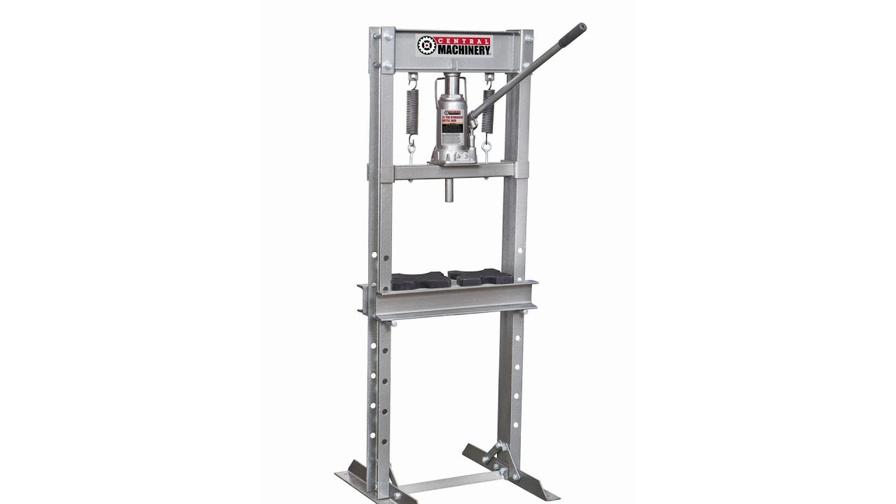 Harbor Freight Item #60604 12 Ton H-Frame Industrial Heavy
