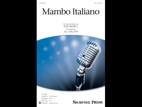Mambo Italiano (TB) - Arranged by Jill Gallina