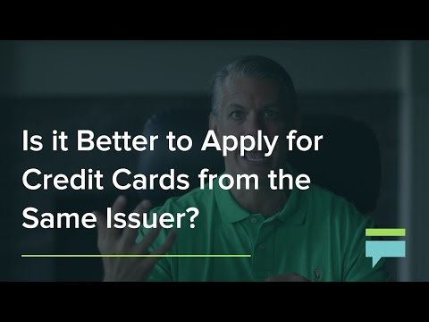 Is It Better To Apply For Credit Cards From The Same Issuer Credit Card Insider