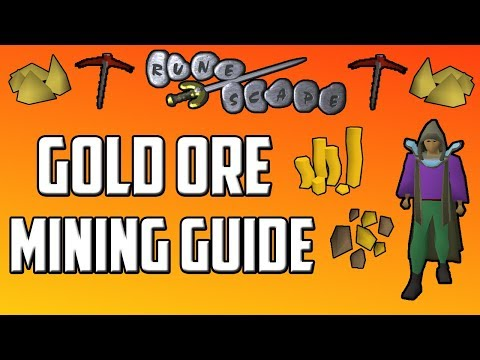 Old School RuneScape Gold Ore Mining Guide