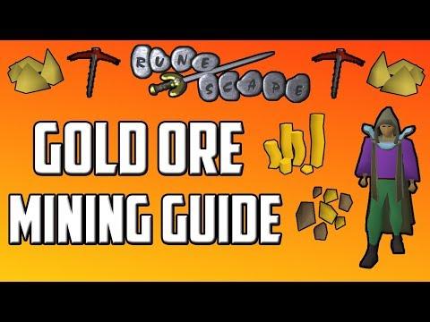 Old School RuneScape Gold Ore Mining Guide