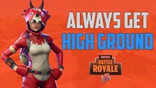 Always Get Your HightGround - Fortnite Battle Royale - MrSreang