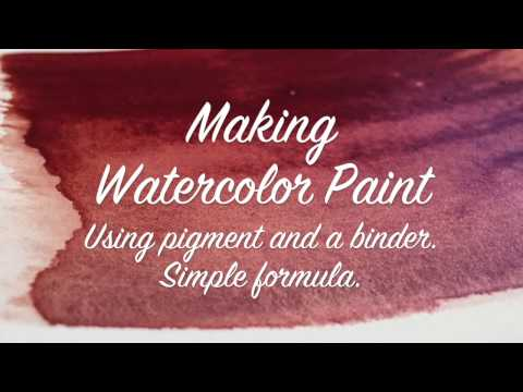How To Make Your Own Watercolor Paint