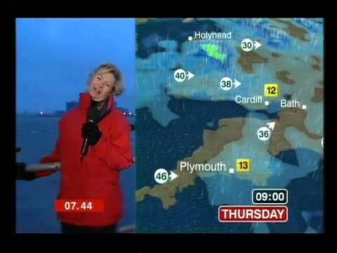carol kirkwood extreme weather 2006