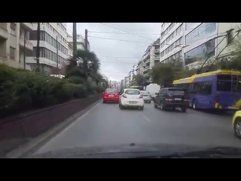 Driving Patision Str Athens