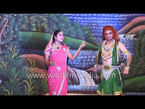 Fight between  Sugreev and Bali : RamLila Day 8 Part 1 (2016)
