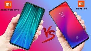 Xiaomi Redmi Note 8 Pro vs Xiaomi Mi 9T Pro - Which is Better!!