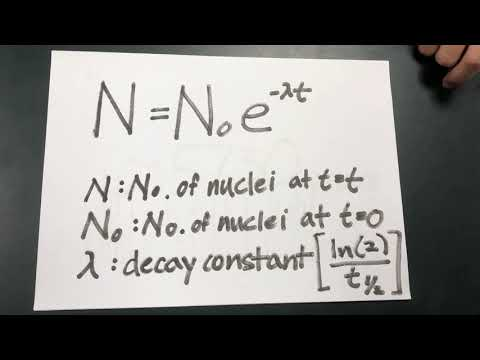 Radioactive decay - Carbon Dating