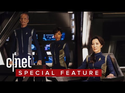 'Star Trek: Discovery' actors geek out about phasers, just like us