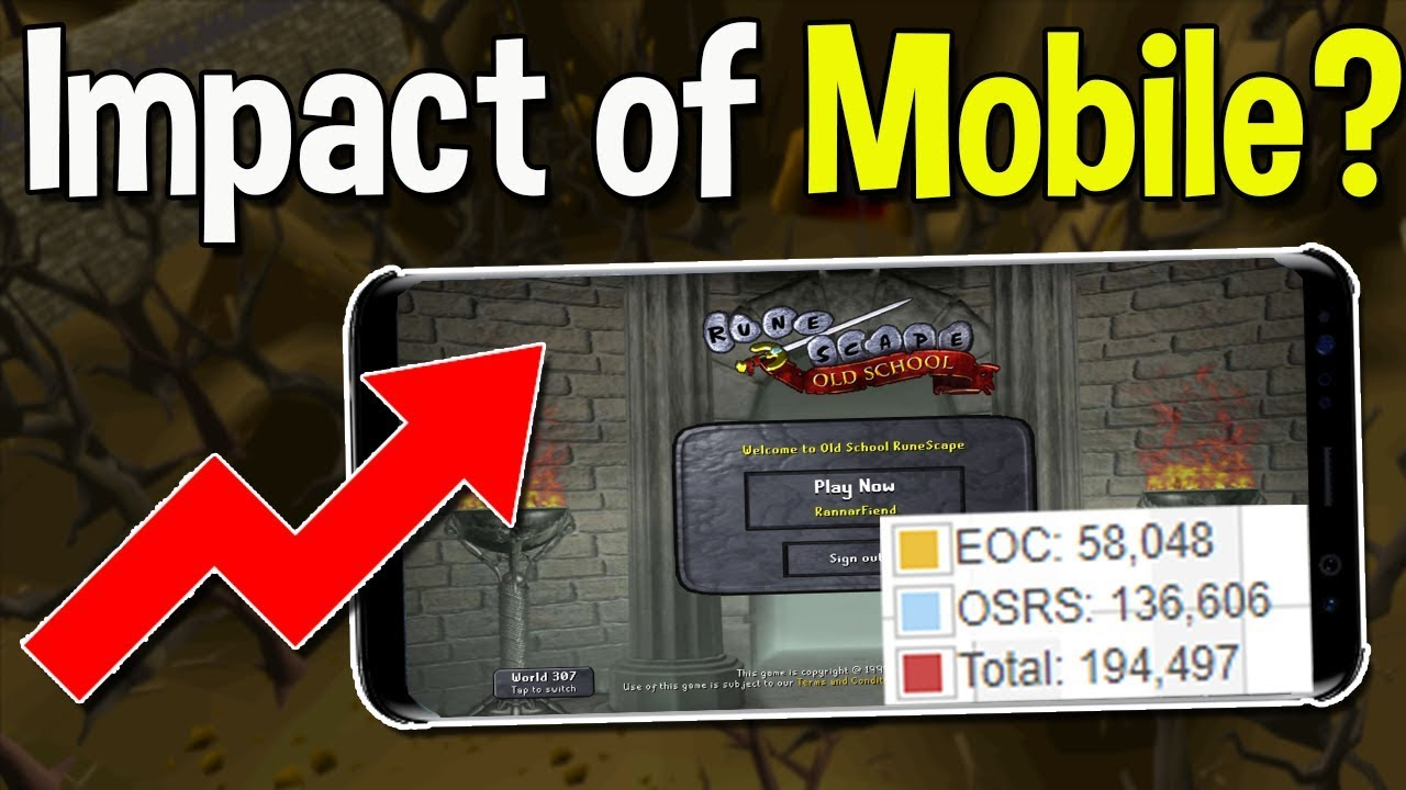 How Succesful Has OSRS Mobile Been on Player Counts? The Long term Effect  of Mobile [OSRS]