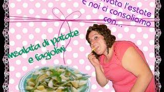 Ricette Bimby - Insalata Di Patate&fagiolini [italian Recipe With Potatos,green Beans And Mint]