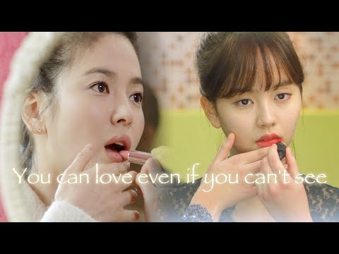 Acting as a blind person SongHyekyo & KimSohyun  [That Winter, the Wind Blows, Page Turner]