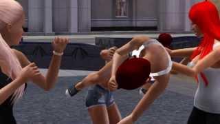 Bambi & Joelle VS Makayla & Kayla HD WSHH