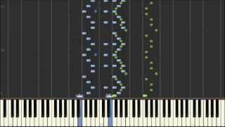 Rimsky Korsakov - Cziffra - Flight of the Bumblebee Synthesia]