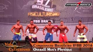 Campeonato Brasileiro IFBB 2016 - Categoria: Overall Men