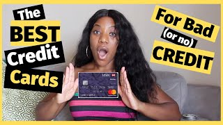 Credit Cards For BAD CREDIT(or no credit)| NO DEPOSIT REQUIRED??