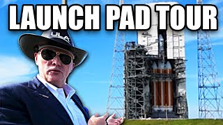 Delta IV Heavy Pad Tour, (with CEO Tory Bruno) - Smarter Eve...