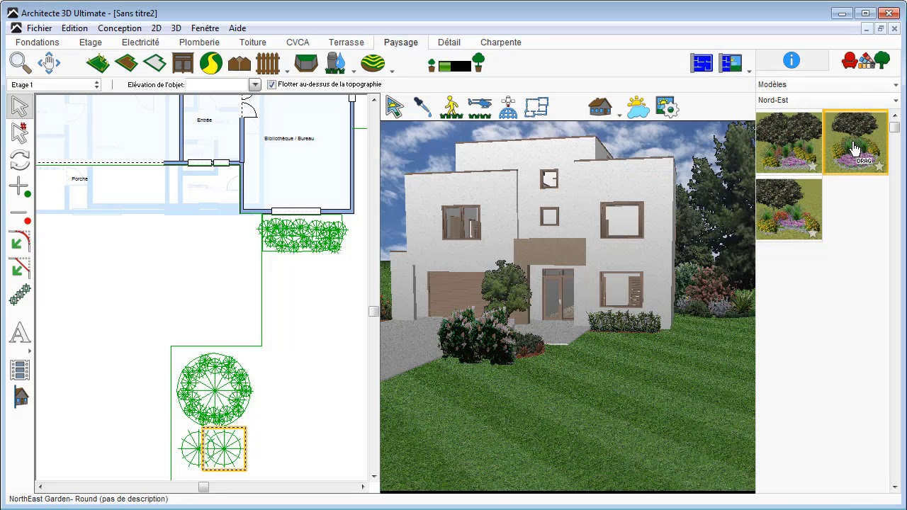 Architecte 3d am nager votre jardin youtube for Architecte 3d avanquest