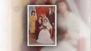 Годовщина свадьбы. Жемчужная свадьба родителей