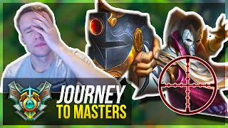 MOST TILTING GAME EVER?! | Journey To Masters #21 - League of Legends