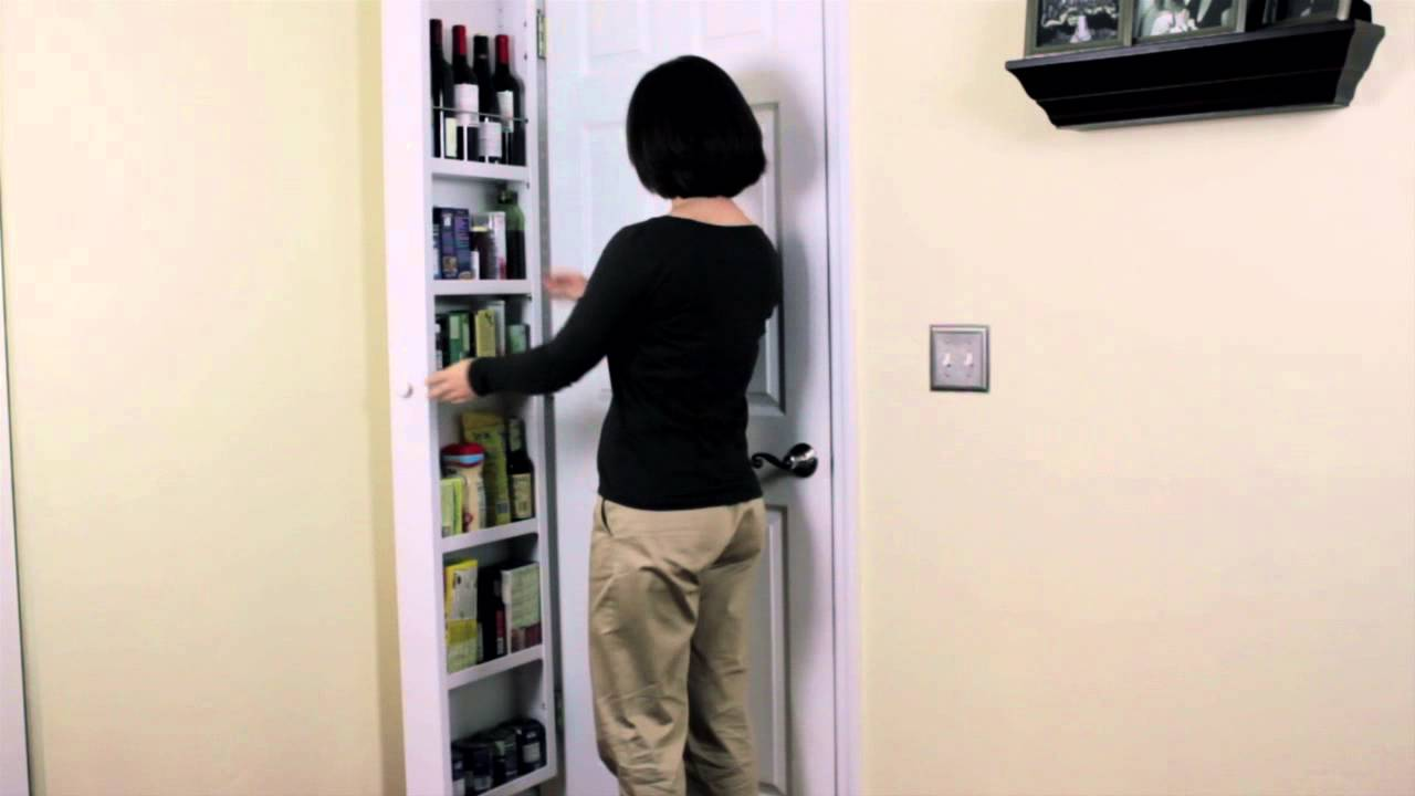 & Innovation Award Winning back of door Storage Cabinet - YouTube