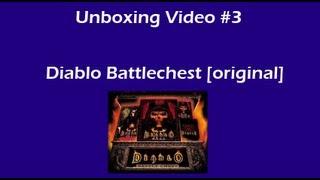 Diablo Battlechest (old edition) unboxing