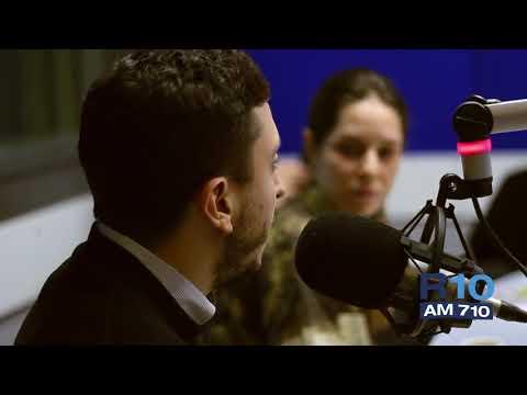 """""""El Destape"""" en Radio 10."""