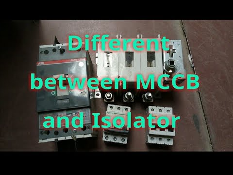 Difference Between Isolator And Circuit Breaker Isolator