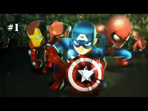Marvel: Mighty Heroes - Beginning Smash! [Episode 1]