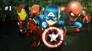 Marvel: Mighty Heroes - Beginning Smash! [Episode 1]