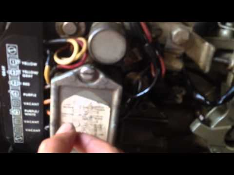 55 EvInrude ignition tests for spark  YouTube