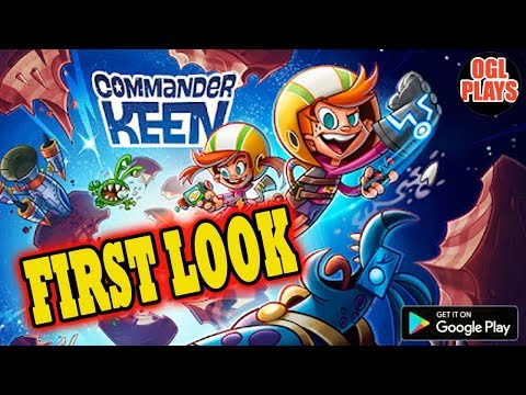 Commander Keen Gameplay First Look (Android IOS)
