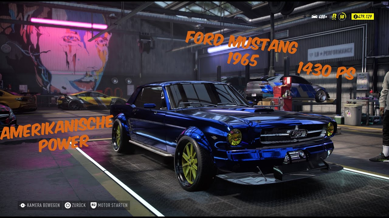 Nfs Heat High End Ford Mustang 1965 Youtube