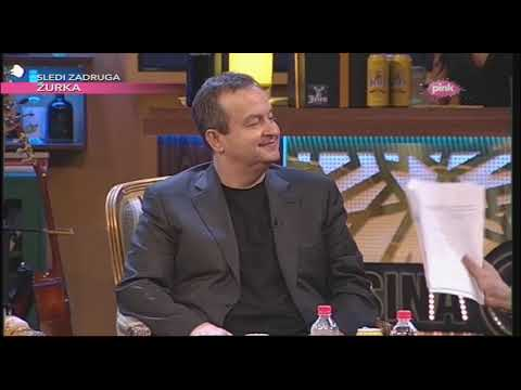 Ivica Dačić o Lavorovu, Titu, Andriću, Putinu (Ami G Show S11)