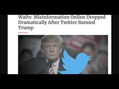 Misinformation Drops 73% Since Trump Dropped From Social Media