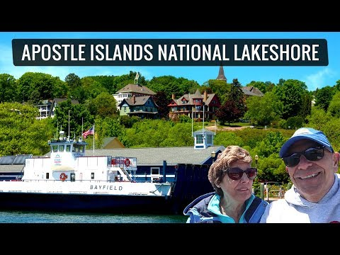 The Apostle Islands of Lake Superior: Boat Tour with Mike and Jennifer