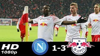 Napoli vs RB Leipzig 1-3 All Goal & Highlights 02/15/2018