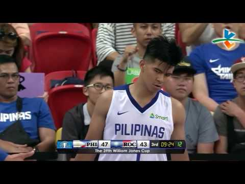 HIGHLIGHTS: Gilas Pilipinas vs. Chinese Taipei-A (VIDEO) Jones Cup 2017