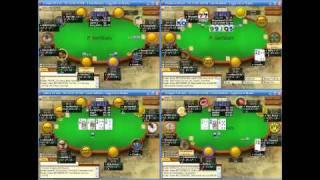 Покер вод FL50, 4 полных стола