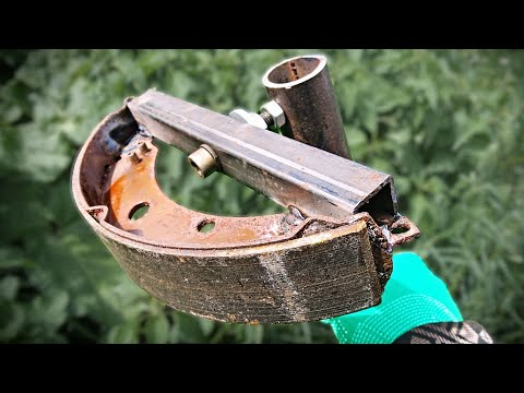 AMAZING HOMEMADE TOOL FOR WELDING! DO NOT THROW AWAY THE BRAKE PADS!