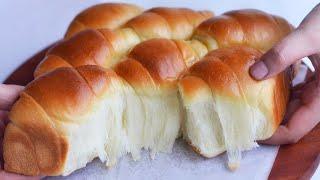 Download Hanya 6 Bahan Kaget Dengan Hasilnya Luar Biasa Lembut, Chigiri Condensed Milk Bread Roti Tanpa Telur