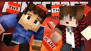 IT'S RAINING TNT! (Minecraft Battle-Dome TRI-TEAMS! with Woofless, BajanCanadian and Ashley!)