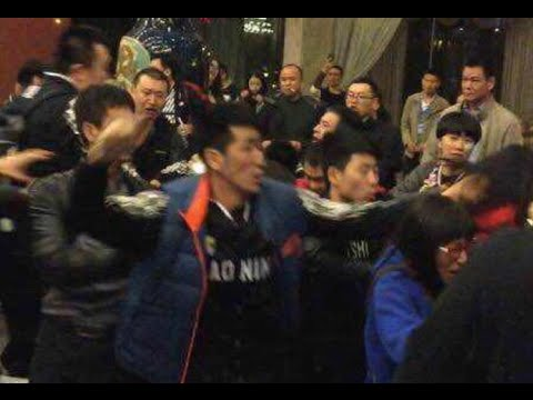 China basketball finals; Sichuan fans brawl with Liaoning players outside hotel