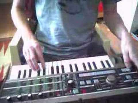 Fooling around on Micro Korg #2