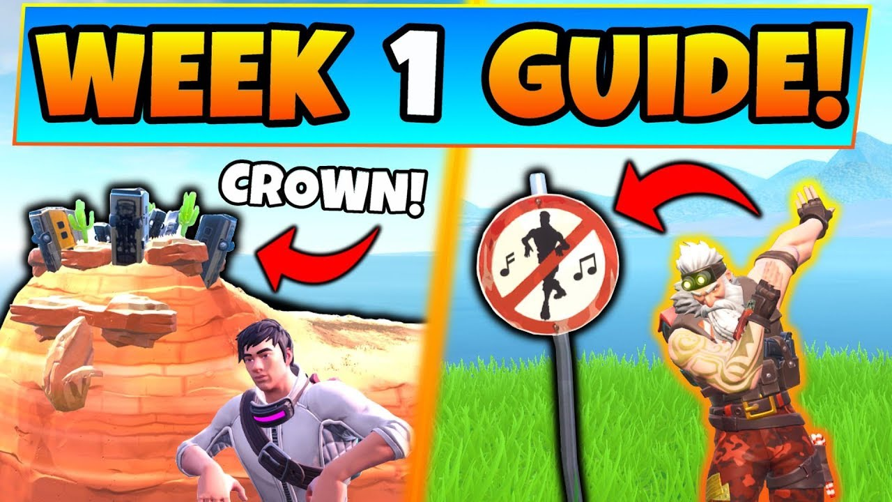 Fortnite Week 1 Challenges Guide Crown Of Rv S Forbidden