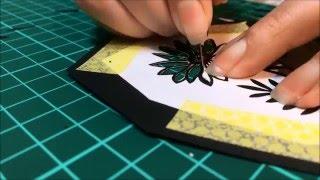 紙雕圖案集 - 可愛圖案輕鬆割示範影片