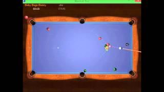 Maximum Pool 8-Ball Match - Baby Bugs Bunny vs CPU