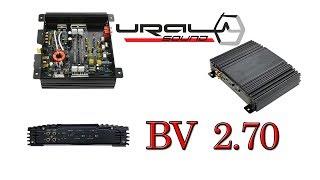 Тест підсилювача URAL (Урал) BV 2.70