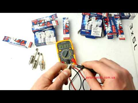 Свечи зажигания DENSO Twin Tip (TT) W20TT, K20TT, Q20TT: распаковка и обзор
